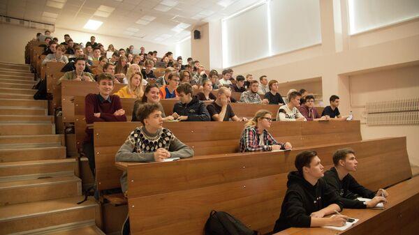 Студенты Государственного университета Дубна