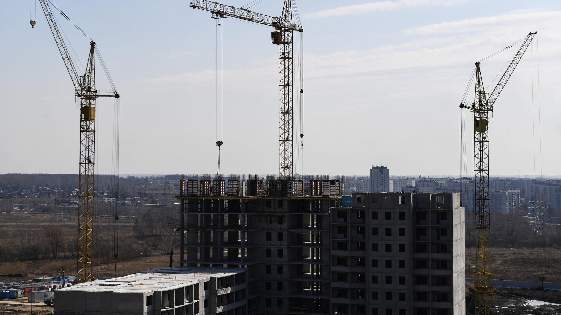 Строительство жилья - РИА Новости, 1920, 23.04.2021