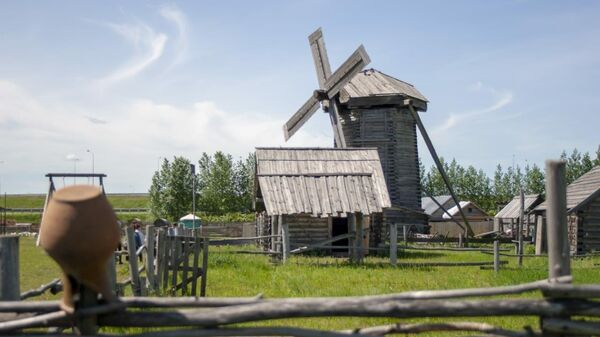 Этнографический музей под открытом небом Татар авылы