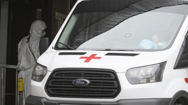 Автомобиль скорой помощи  в Санкт-Петербурге