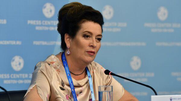 Министр здравоохранения Ростовской области Татьяна Быковская