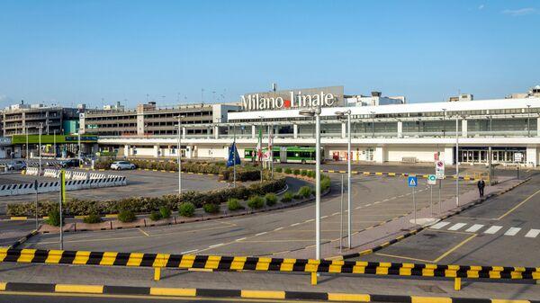 Аэропорт Милана в период режима чрезвычайной ситуации в связи с пандемией коронавируса