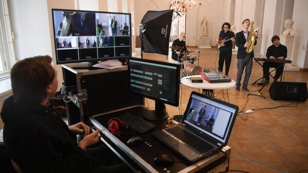 Запись онлайн-концерта группы PLANCK's TONE в музее-заповеднике Царицыно в Москве