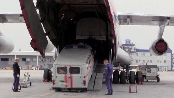 Медики с оборудованием для госпиталя прибыли на Чаяндинское месторождение в Якутии