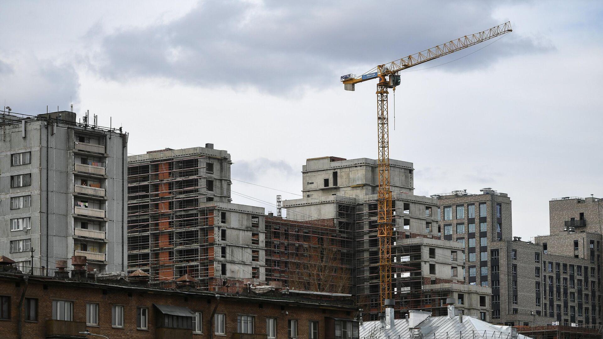 Строительство жилья - РИА Новости, 1920, 03.12.2020