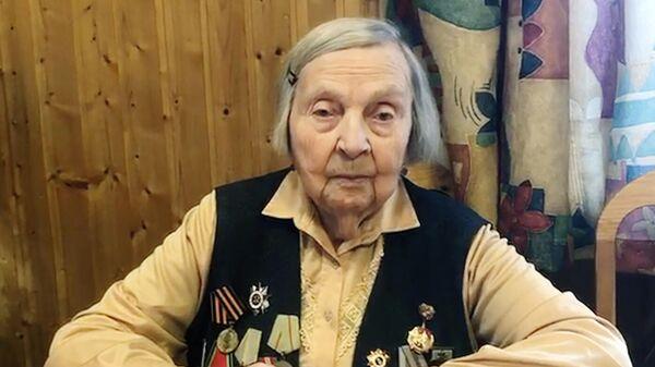 Ветеран Великой Отечественной войны из Петербурга Зинаида Корнева