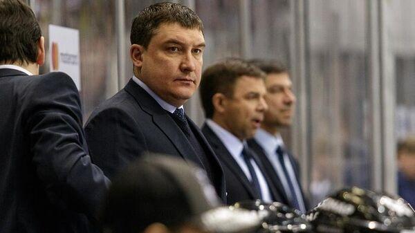 Главный тренер хоккейного клуба Трактор Анвар Гатиятулин
