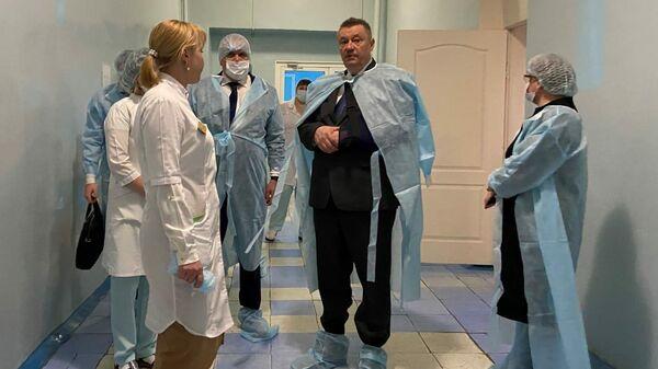 Министр здравоохранения Нижегородской области Александр Смирнов