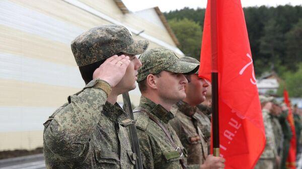 Военнослужащие Южной Осетии