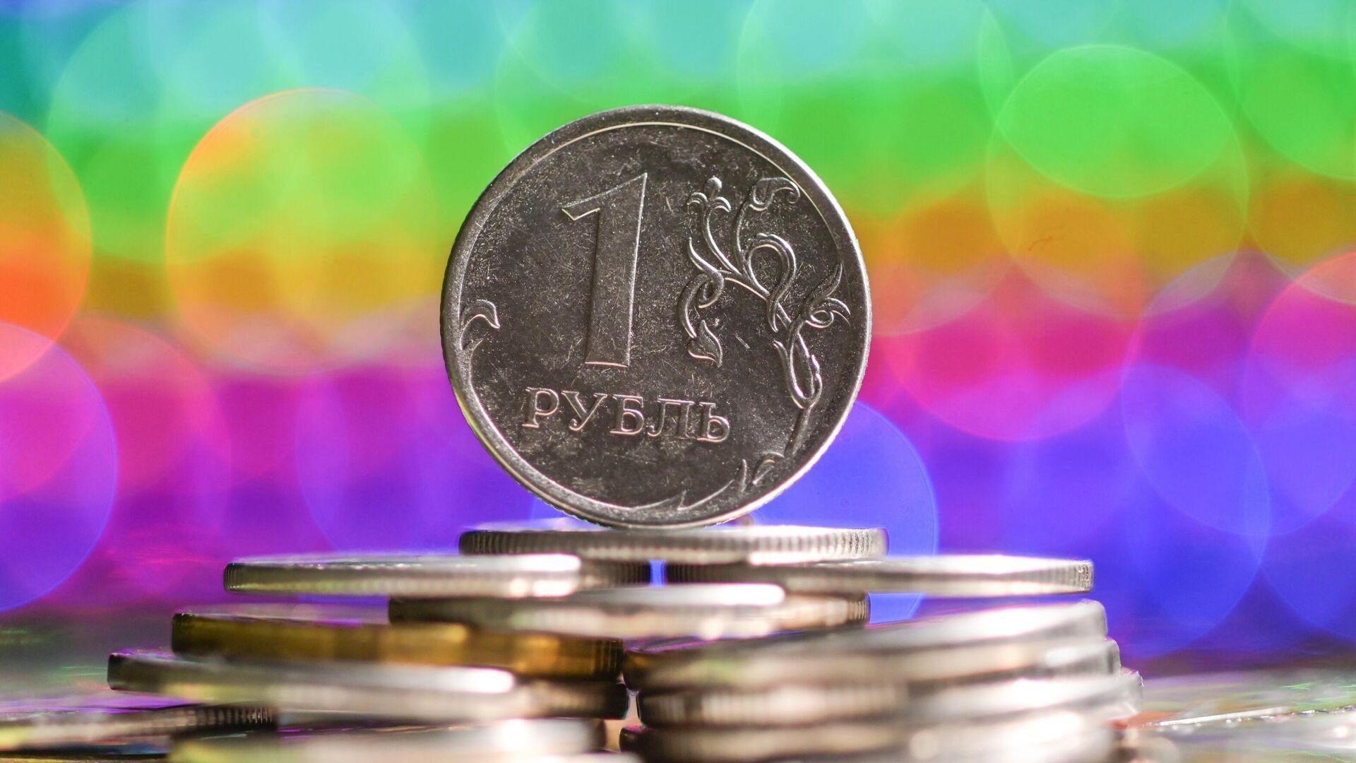 Монеты номиналом один рубль - РИА Новости, 1920, 30.09.2020