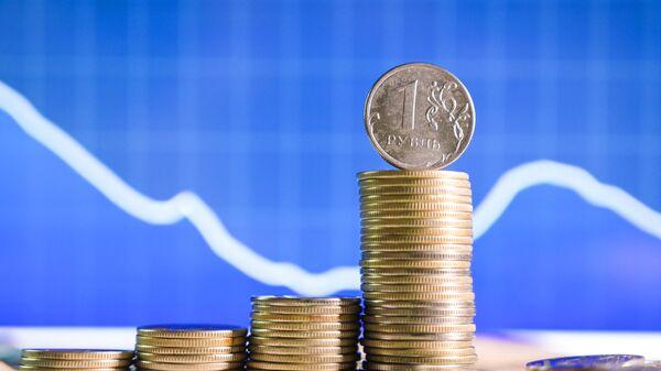Монеты номиналом один рубль