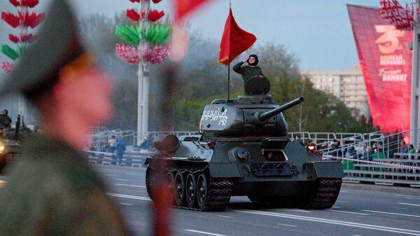 Репетиция парада ко Дню Победы в Минске