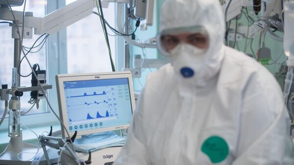 Врач в отделении реанимации и интенсивной терапии НМИЦ здоровья детей Минздрава РФ