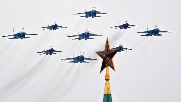 Воздушный парад Победы в Москве