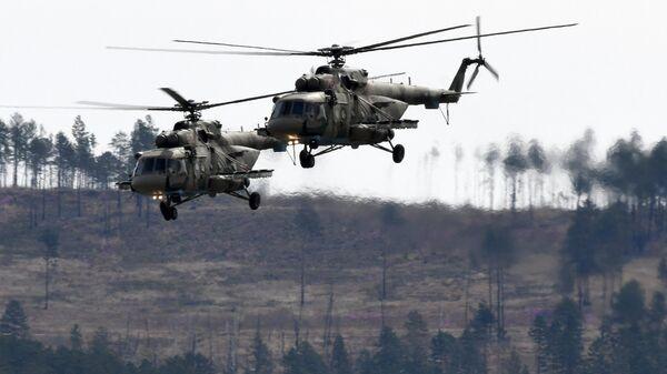 Многоцелевые вертолеты Ми-8