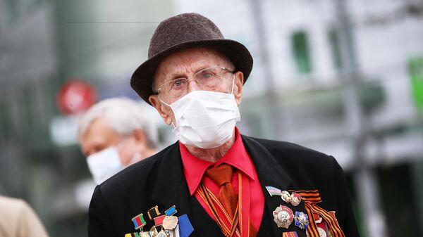 Великой Отечественной войны во время празднования Дня Победы в Краснодаре