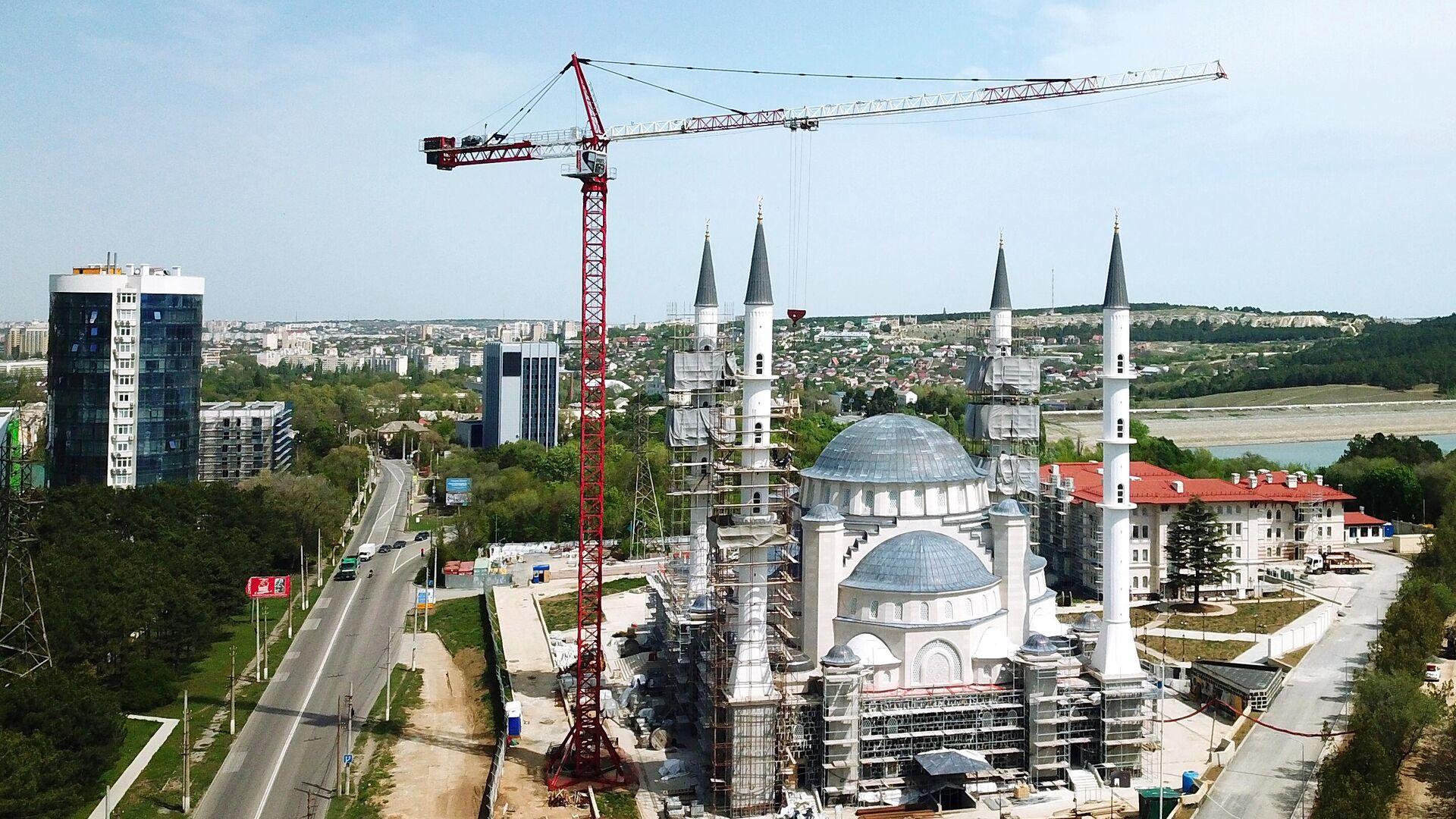 Строительство соборной мечети в Симферополе - РИА Новости, 1920, 17.05.2021