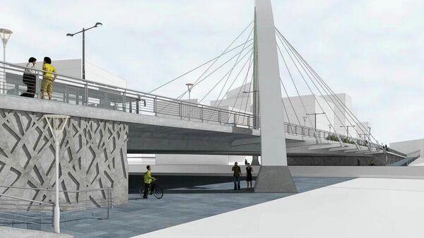 Проект моста через Москву-реку