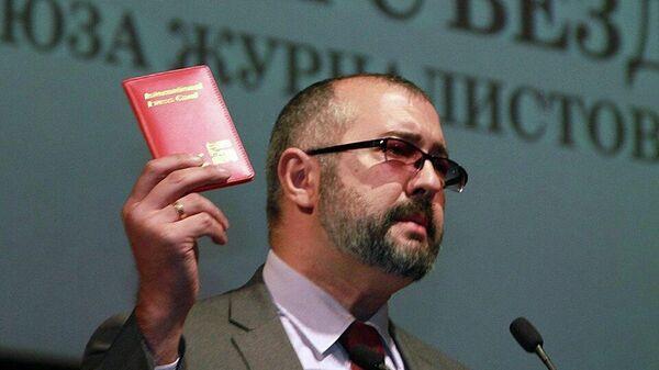 Глава Международного отдела Союза журналистов России Тимур Шафир
