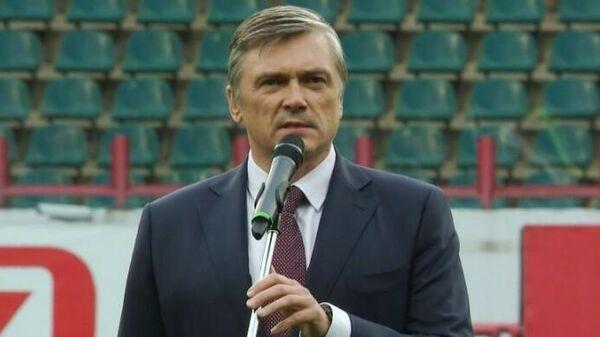 Председатель совета директоров Локомотива Анатолий Мещеряков