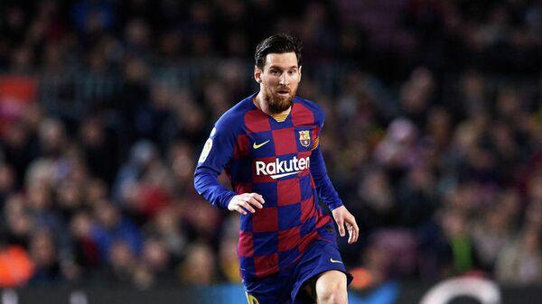 Нападающий Барселоны и сборной Аргентины по футболу Лионель Месси