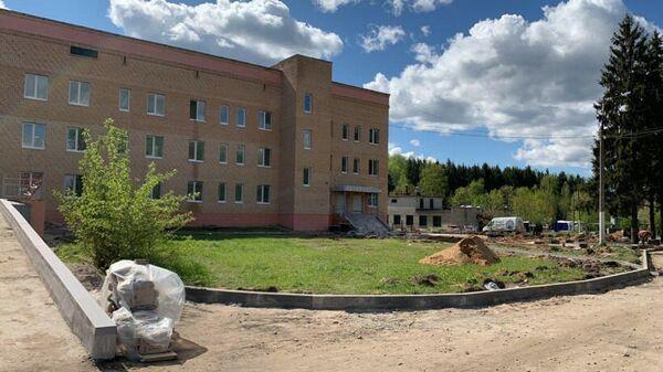 Перепрофилирование Никольской больницы в Одинцово для лечения пациентов с COVID-19