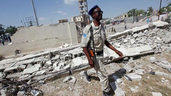 Полицейский в Сомали