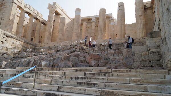 Открытие Акрополя в Греции