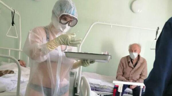 Медсестра в Тульской областной больнице