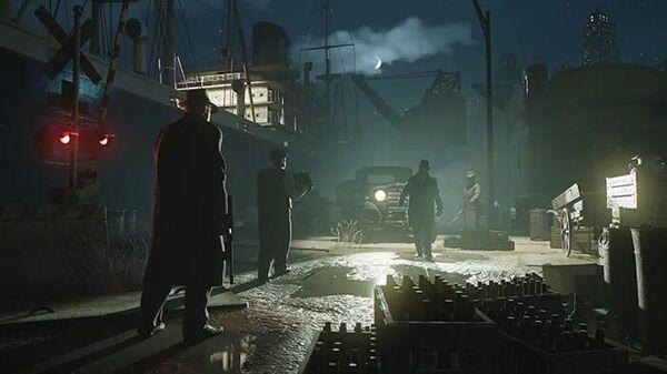 Кадр из игры Mafia