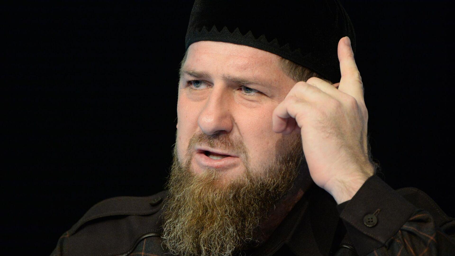 Глава Чеченской Республики Рамзан Кадыров - РИА Новости, 1920, 17.10.2020