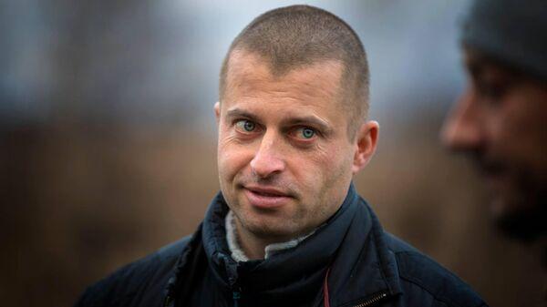 Руководитель противопожарного отдела Greenpeace России Григорий Куксин