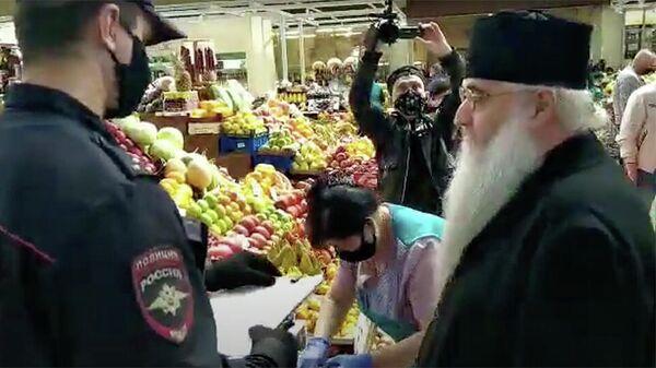 Видео беседы сотрудника полиции и митрополита Саратовского и Вольского Лонгина