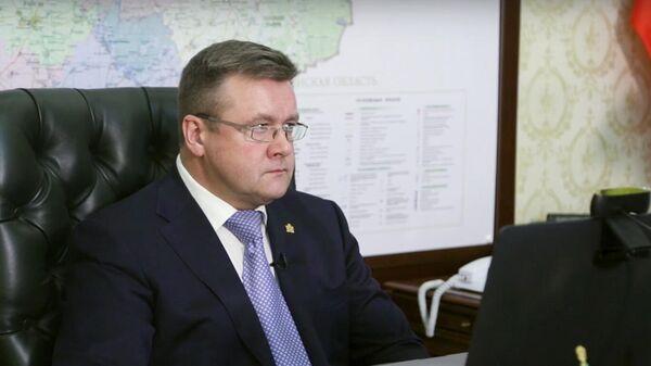 Губернатор Рязанской области Николай Любимов