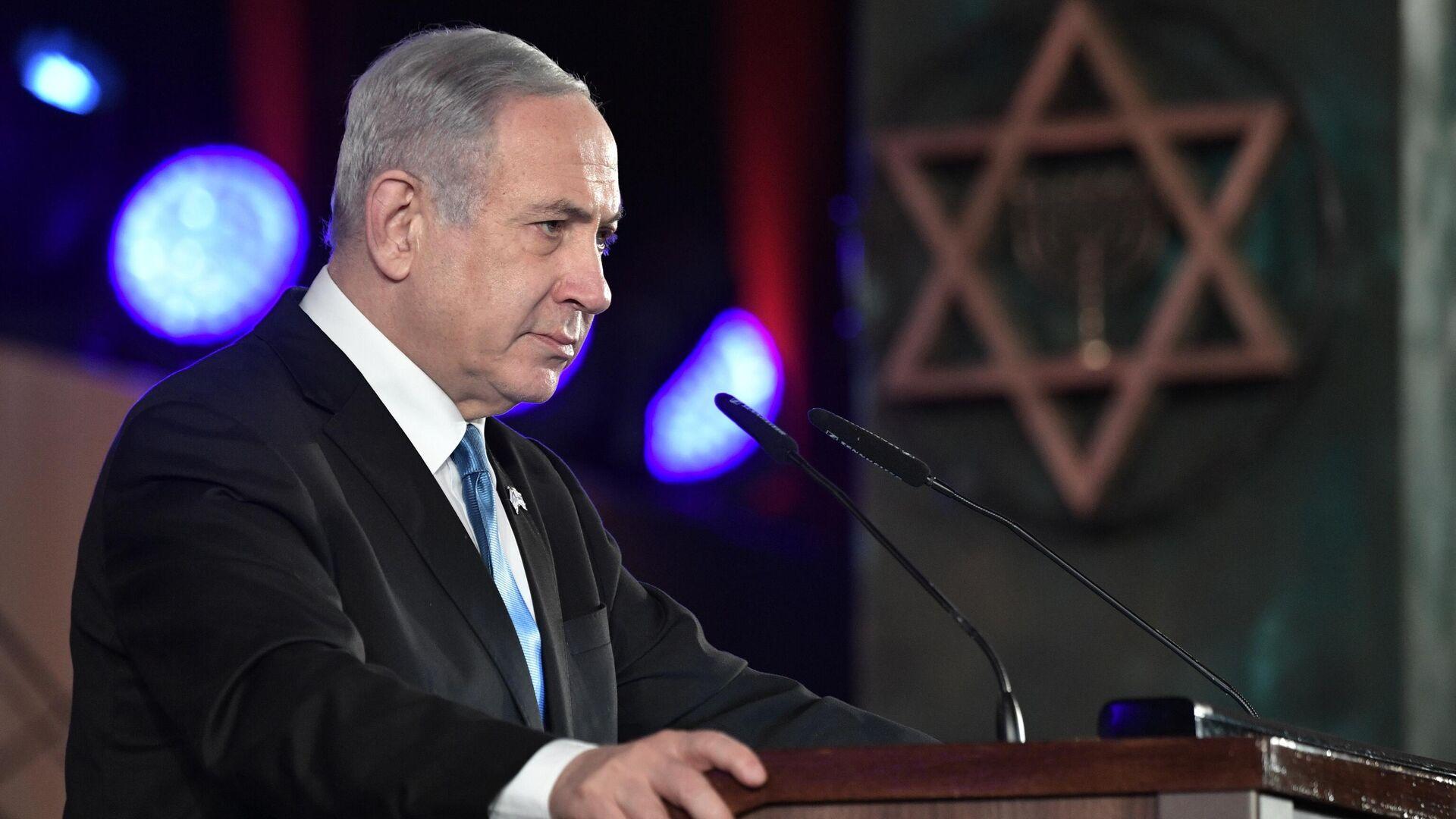 Премьер-министр Биньямин Нетаньяху  - РИА Новости, 1920, 18.11.2020
