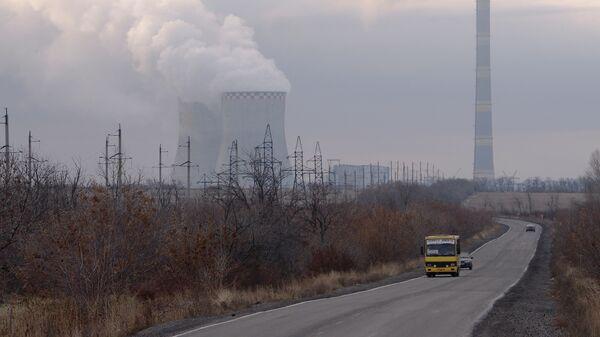 Зуевская ТЭС на востоке Украины