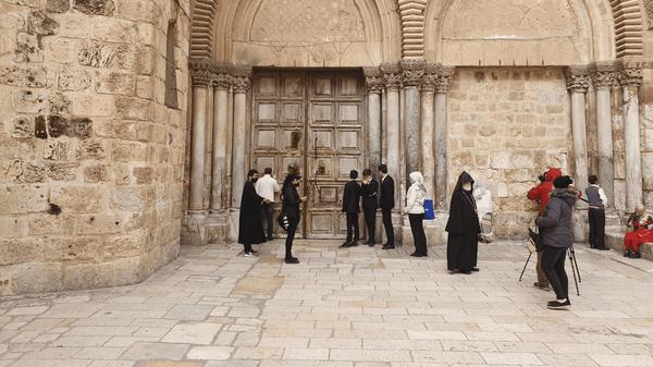 Открытие Храма Гроба Господня в Иерусалиме. 24 мая 2020