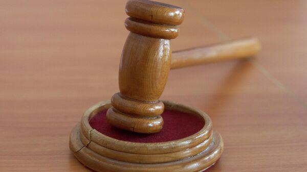 Молоток в зале судебных заседаний