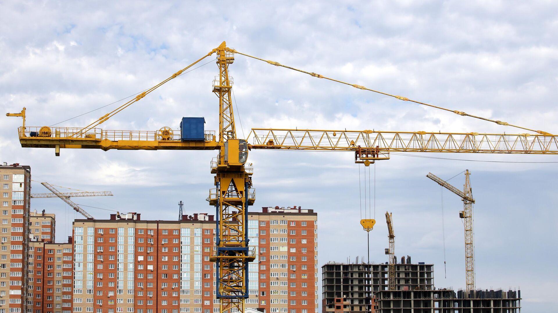 Строительство жилых домов - РИА Новости, 1920, 02.12.2020