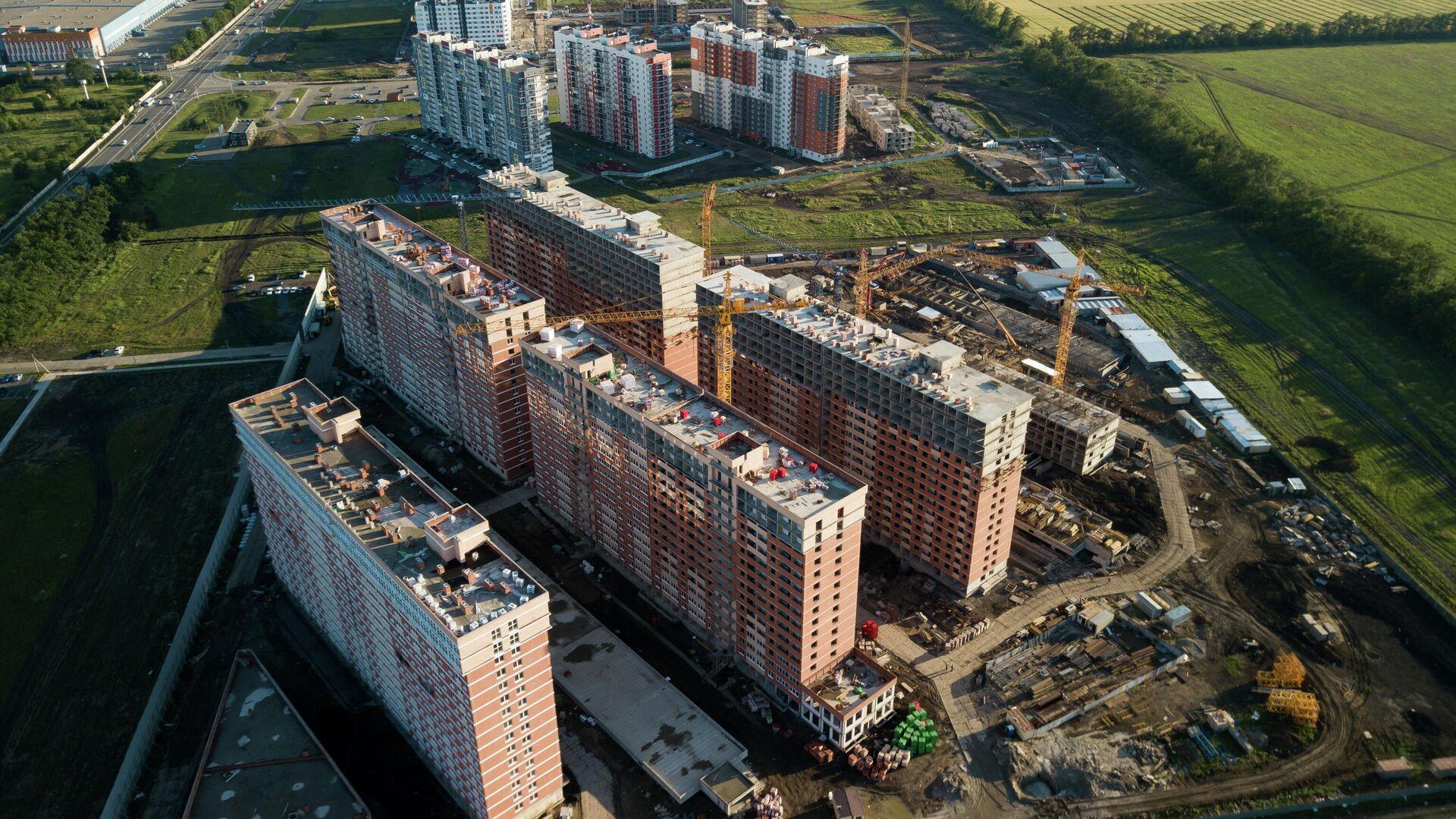 Строительство жилья - РИА Новости, 1920, 03.06.2021