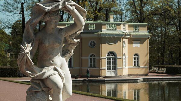 Верхняя ванна в Екатерининском парке Царскосельской императорской резиденции Царское село