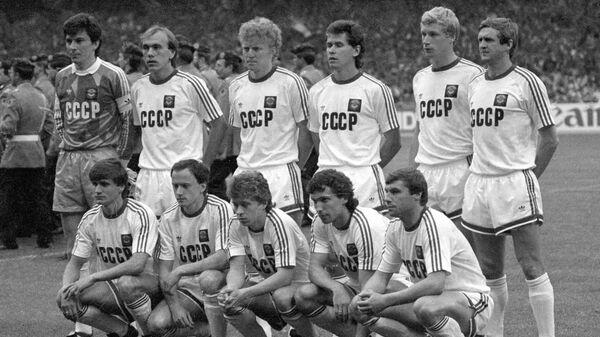 Футболисты сборной СССР на ЕВРО-1988