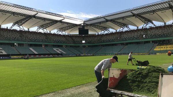 Футбольный стадион Войска Польского имени маршала Юзефа Пилсудского в Варшаве