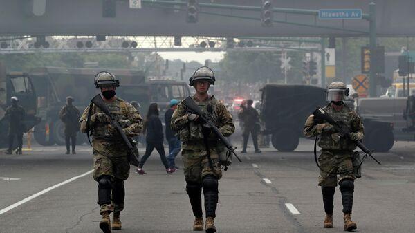 Военнослужащие Национальной гвардии США в Миннеаполисе