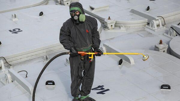 Военнослужащий войск радиационной, химической и биологической защиты