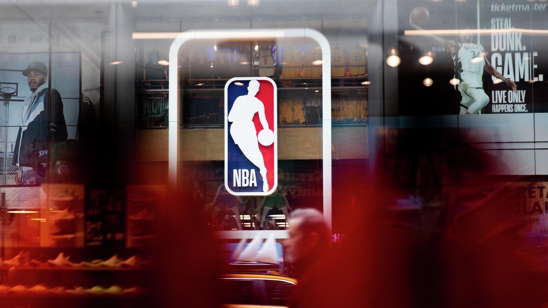 Логотип Национальной баскетбольной ассоциации (НБА) - РИА Новости, 1920, 22.05.2021