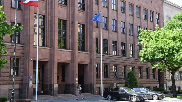 Здание МИД Польши в Варшаве