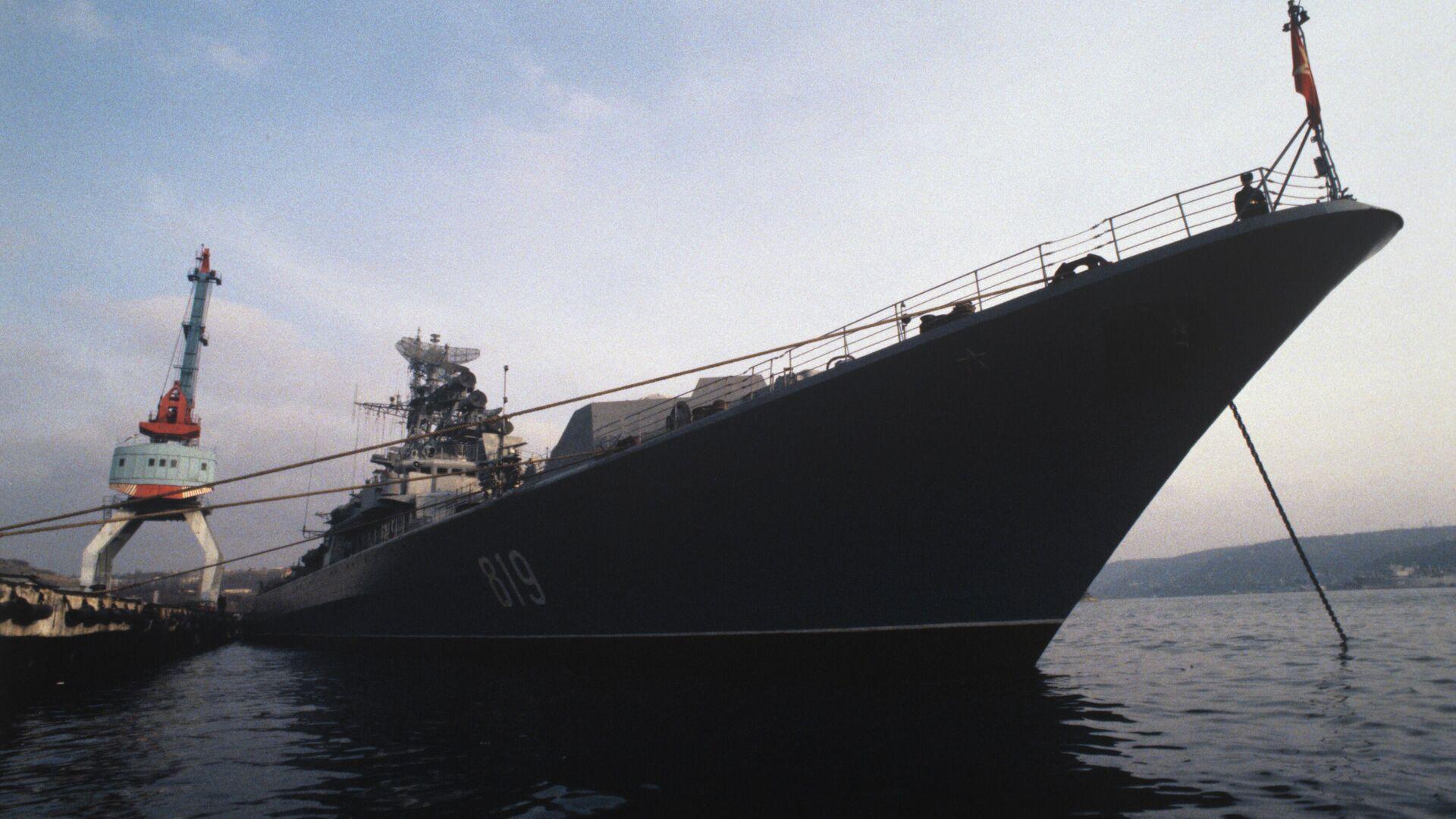 Один из кораблей Черноморского флота ВМФ России - РИА Новости, 1920, 18.12.2020