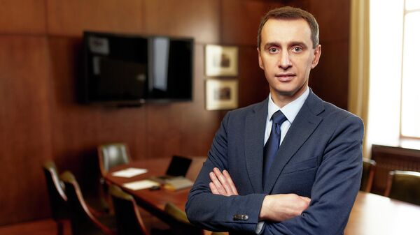 Главный государственный санитарный врач Украины Виктор Ляшко