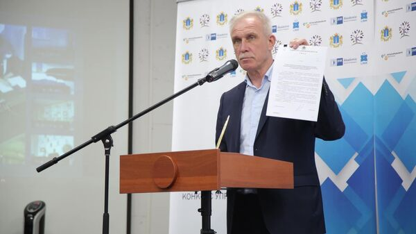 Глава Ульяновской области Сергей Морозов